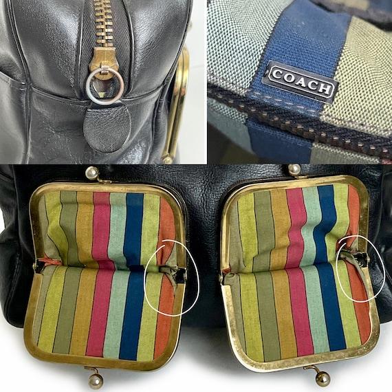 Vintage Bonnie Cashin for Coach Bag Double Pocket… - image 10