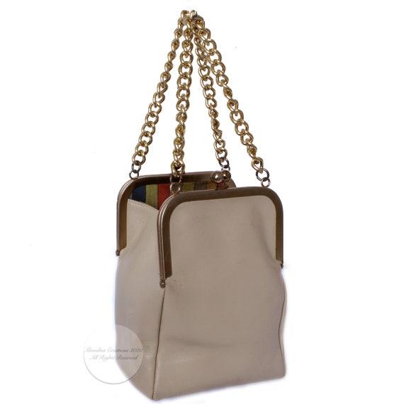 Bonnie Cashin for Coach Double Kiss Lock Bag Tote… - image 1