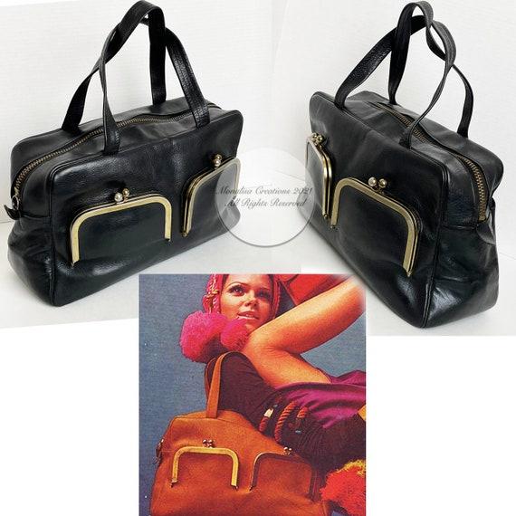 Vintage Bonnie Cashin for Coach Bag Double Pocket… - image 4