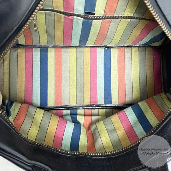 Vintage Bonnie Cashin for Coach Bag Double Pocket… - image 8