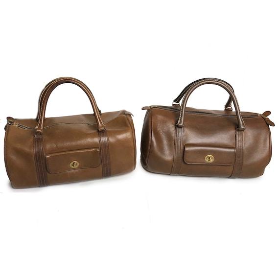 Bonnie Cashin for Coach Safari Bag Brown Leather … - image 8