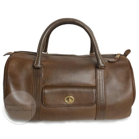 Bonnie Cashin for Coach Safari Bag Brown Leather … - image 1