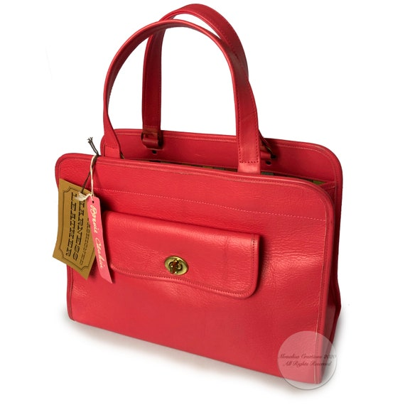 Vintage Bonnie Cashin for Coach Safari Bag Tote G… - image 3