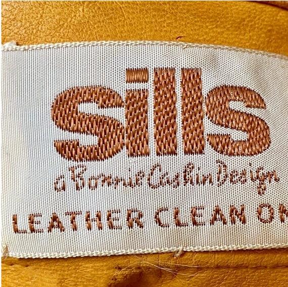 Bonnie Cashin for Sills Jacket Pumpkin Suede Leat… - image 6