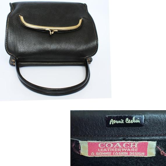 Bonnie Cashin for Coach Kisslock Tote Doctors Bag… - image 6