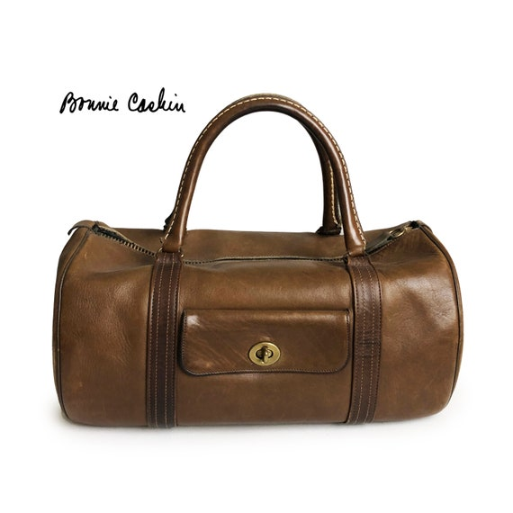 Bonnie Cashin Coach Safari Bag Duffel Bag Tabac Le