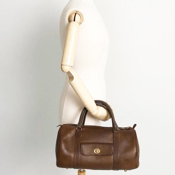 Bonnie Cashin for Coach Safari Bag Brown Leather … - image 2
