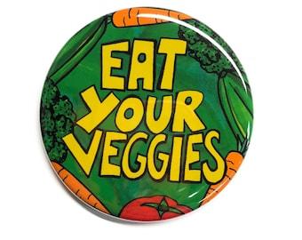 NO GMO button organic healthy pinback button badge VEG Pin