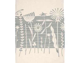 Tea Towel Summer Weeds