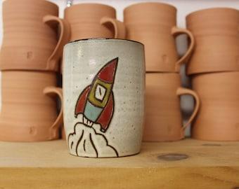 Large Rocket Mug