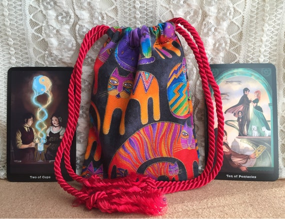 Cinderella Wedding Brocade Drawstring Tarot Bag