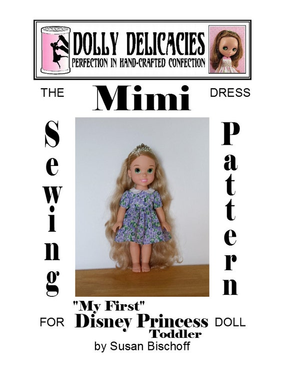 Dress Sewing Pattern For Disney S My First Etsy