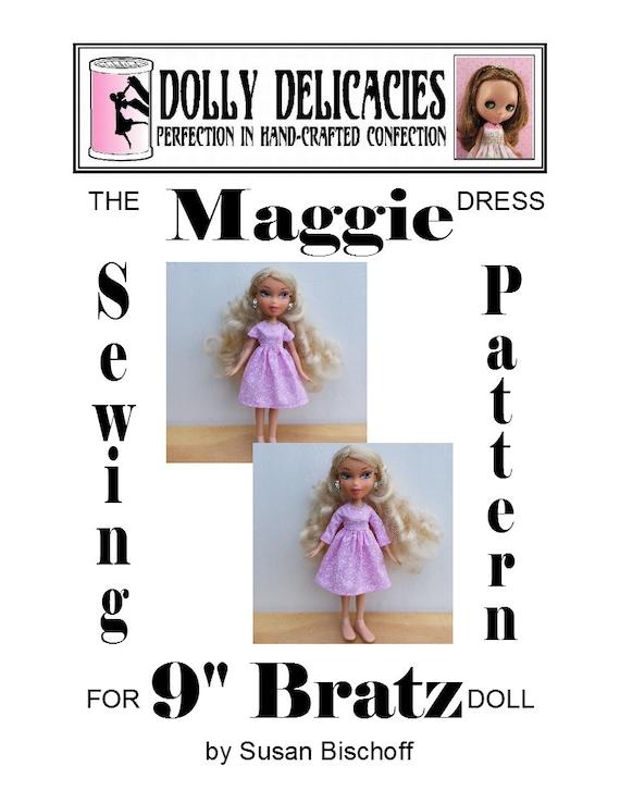 Dress Sewing Pattern For 40 Bratz Maggie PDF Download By Etsy Best Bratz Sewing Machine Reviews