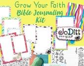 Bible Journaling Kit / Bible Journaling Printable