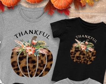 Leopard Print Pumpkin Clipart, Thanksgiving PNG, Boho Clipart, Thanksgiving Clip Art, Feather Clipart,  Thankful PNG, Pumpkin Sublimation