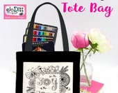 Scripture Totes, The Joy of the Lord is My Strength, Teacher Tote Bag, Bible Case, Christian Gifts for Women, Bible Cover, Bible Tote Bag