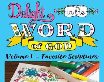 Bible Coloring Book for Adults, Printable Coloring Pages, Bible Journaling Prayer Journal, Scripture Coloring Sheets, Bible Verse Printables
