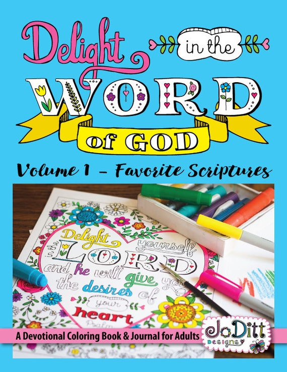 Bible Coloring Book For Adults Printable Coloring Pages Etsy