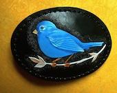 Bluebird of Happiness Belt Buckle