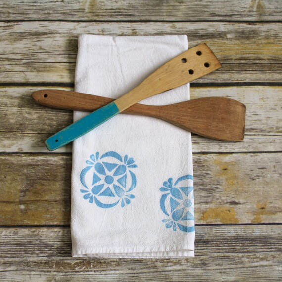 Tea Towel Celtic Kitchen Decor · Dish Towel Kitchen Linens · Flour Sack Towels Hostess Gift · Custom Towel Gift for Mom