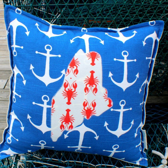 """Signature State Throw Pillow · ECO-friendly 18""""x18"""" · Accent Pillow · Decorative Throw Pillow · Pillow Cover"""