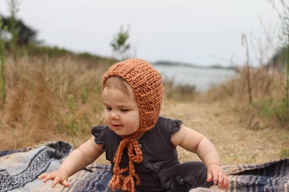 Lhiver en tricot Bonnet pour bébé pour garçons ou filles à   Etsy 25f944660ab