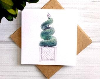 Topiary Mini Cards Gift Enclosure