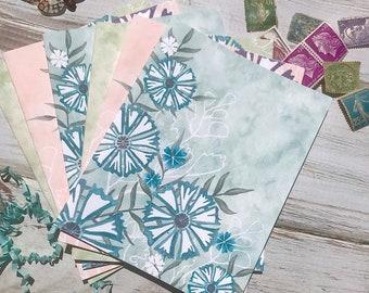 Wildflower Notecards, Set of Six