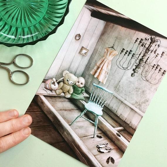 The abandoned Ones – stort kunstkort