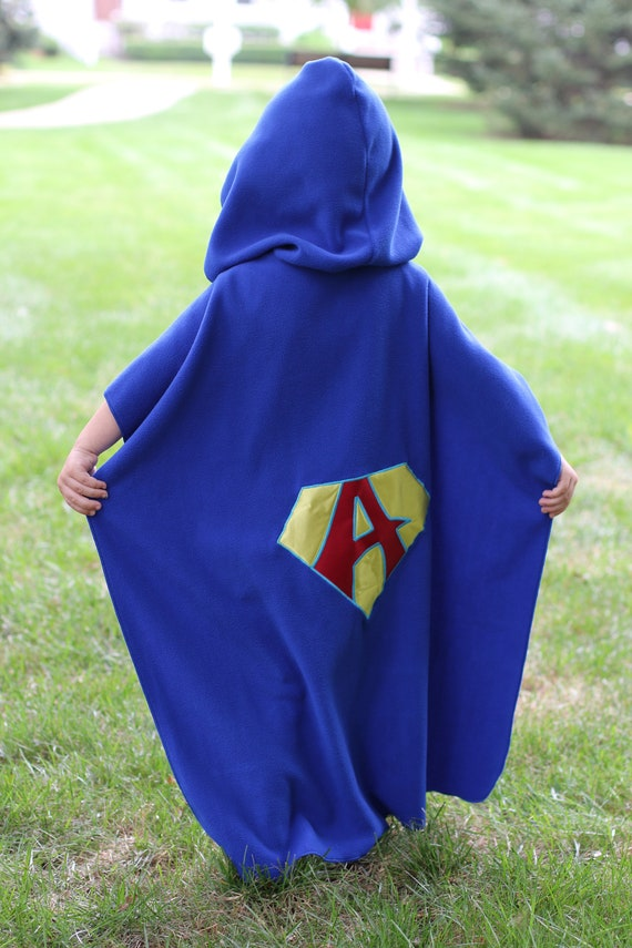 Personalized Hooded Fleece Kids and Adult Cape Cloak - Customizable - Super  Hero Party Favor - Made to Order - 30