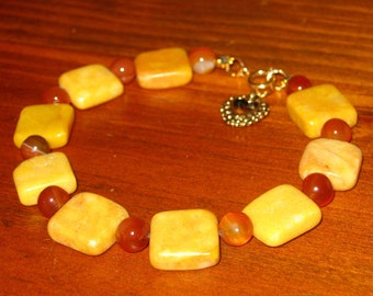 Marble 3 opaque brown could be Bohemian glass 24 mm African Trade carnelian faceted marble bead