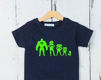 Personalised Superhero T shirt - Kids T shirt, Birthday Gift, Baby Shower Gift
