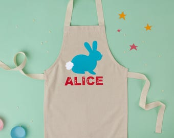 Easter Apron|Childrens Apron|Kids Apron|baking apron|toddler apron|Egg Hunt|Easter Gift