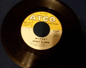 Two Sonny and Cher Records Arco labels