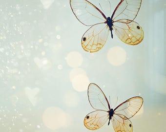 Fine Art Photograph, Butterfly Art, Butterfly Photo Print, Dreamy Art, Garden Decor, Wall Art, Nursery Decor, Whimsical Art, Nature Art