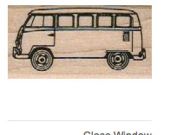 P16 Classic VW Bus rubber stamp WM