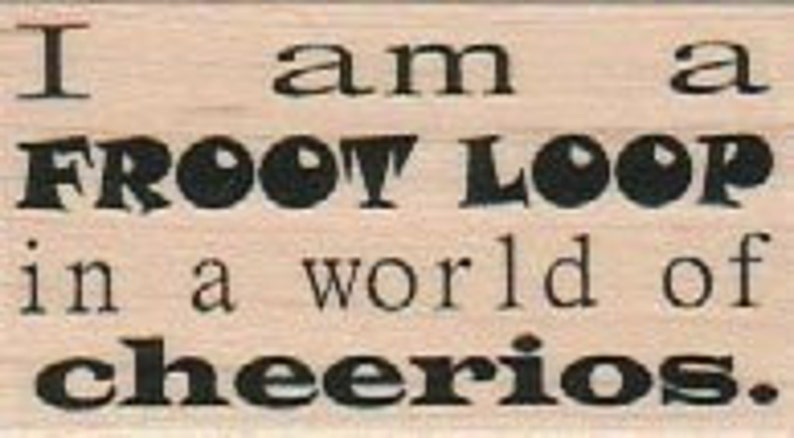 unmounted rubber rubber  stamp Quote humor   number 18711 Hussy woman insult wood mounted cling stamp craft supplies