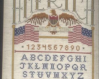 Liberty Eagle Cross-Stitch