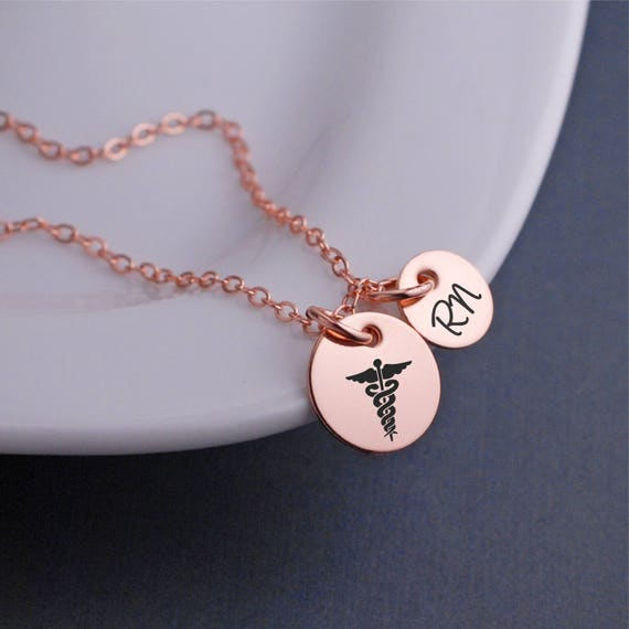 Nurse Jewelry Personalized Caduceus Charm Bangle Bracelet Medical School Gift for Doctor Caduceus Graduation Gifts