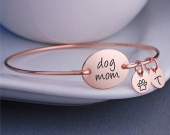 Dog Mom Jewelry, Bracelet for Dog Lover, Dog Mom Bracelet, Personalized Pet Jewelry, Pet Mom, Pet Mother's Day Gift