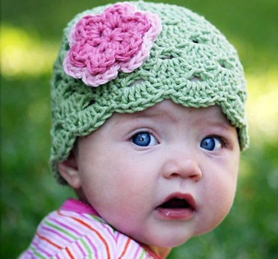 Baby Mädchen Mütze Neugeborene Häkeln Hut Kleinkind Mütze Etsy