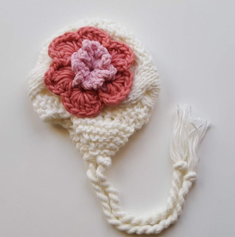 08ffa149004af Newborn Baby Girl Hat Baby Hats for Girls Crochet Baby Hat
