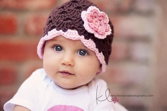 Baby Mädchen Hut Hut Häkeln Baby Baby Mädchen Beanie Etsy