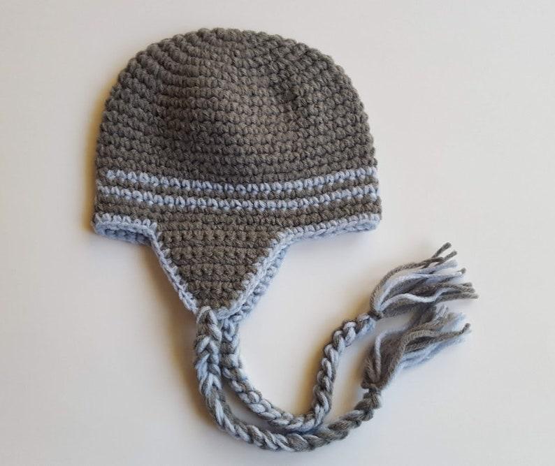 b92e706a7e402 Baby Hats for Boys, Toddler Boy Hat, Coming Home Hat, Newborn Hat, Crochet  Baby Hat, Newborn Boy Gift, Baby Boy Photo Prop, Boy Ear Flap Hat