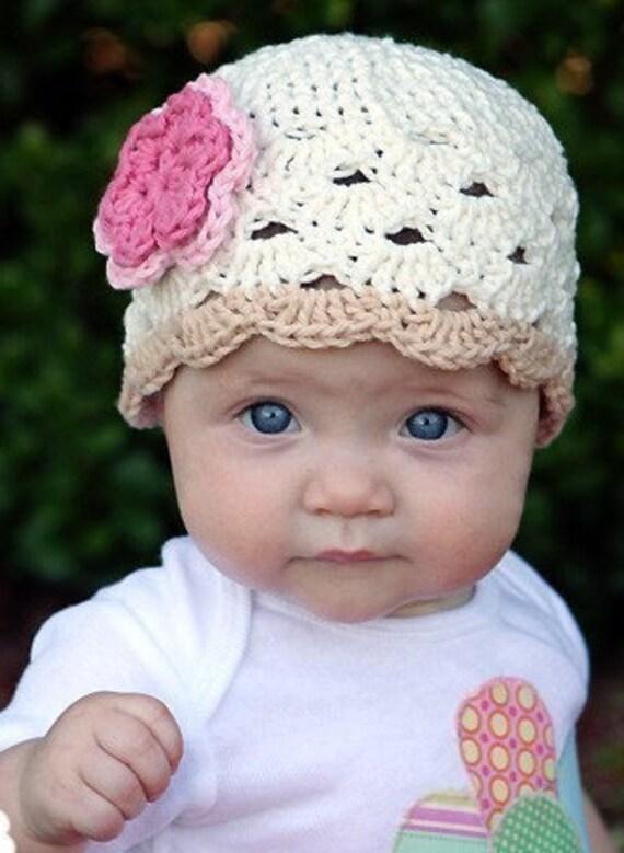 549cbe904ab Crochet Baby Hat Baby Girl Beanie Baby Girl Baby Hat Baby