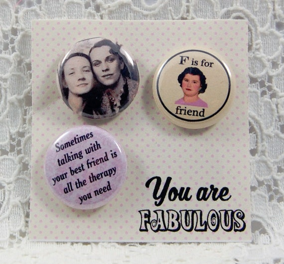 Friends Together Pin You Make Me Happy Pin Love Your Smile Etsy