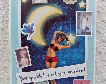 You Are Fabulous Card Friendship Card Be Yourself Card Follow Your Dreams You Are Loved Believe in Yourself Follow Your Heart Gift for Her