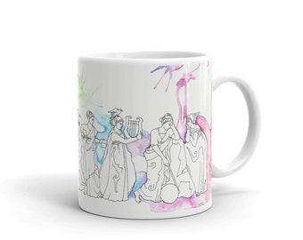 Nine Muses Mug for Artists