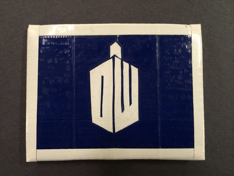 Doctor Who Adipose Duct Tape Wallet image 0