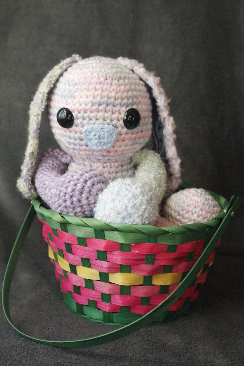 OOAK Crochet Easter Bunny image 0
